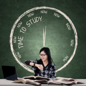 How to fit study in while working