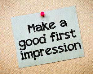 How to make a lasting first impression